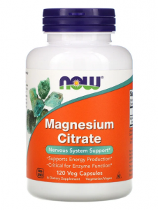 Now Foods Magnesium Citrate 120 капс