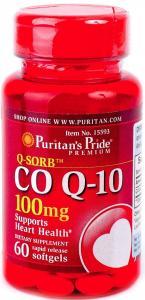 Puritan's Pride Co Q-10 with cinnamon 60 капс