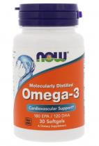 Now Foods Omega-3 1000 мг 30 софтгель
