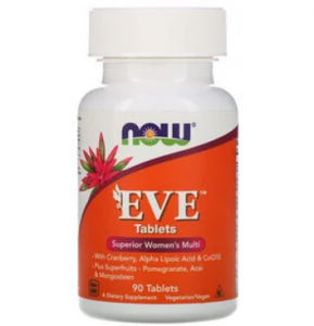 Now Foods Eve Tabletes 90 таб