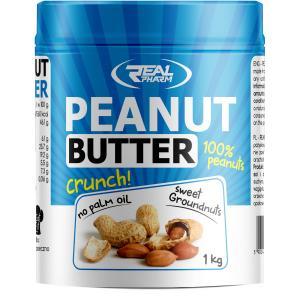 Peanut Butter Crunchy 1000 г Real Pharm