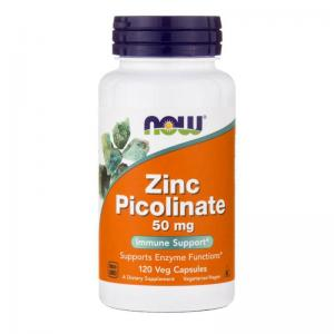 Now Foods Zinc Picolinate 50 мг 120 капс