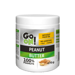 Peanut Butter 470g, Go On Nutrition