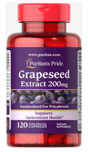 Puritan's Pride Grapeseed Extract 200 mg 120 caps
