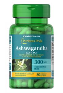 Puritan's Pride Ashwagandha  300 мг 50 капс