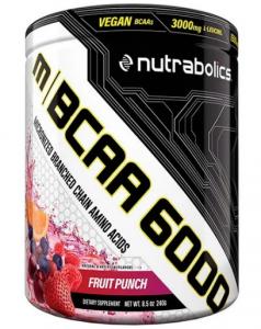 BCAA 6000 240g  Nutrabolics