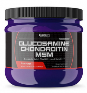 Glucosamine and CHONDROITIN MSM 158 гр Ultimate Nutrition