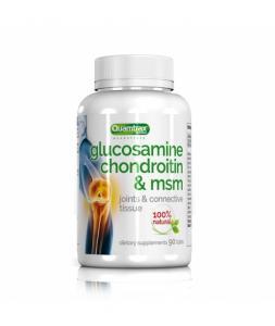 Glucosamine Condroitin MSM 90 таб, Quamtrax