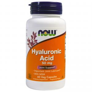 Now Foods Hyaluronic Acid 50 мг 60 капс