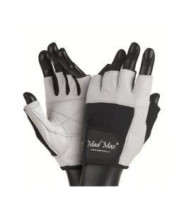 Перчатки FITNESS MFG-444 белые Mad Max