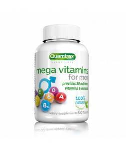 Mega Vitamins for Men 60 таб. Quamtrax