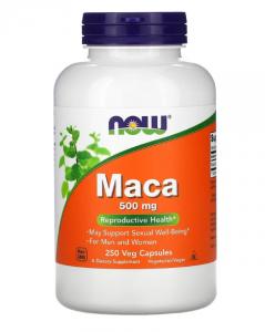 Now Foods Maca 500 мг 250 капc