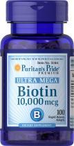 Puritan's Pride Biotin 10000 mcg 100 капс.