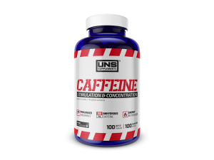 Caffeine 200 mg 100 капс  UNS