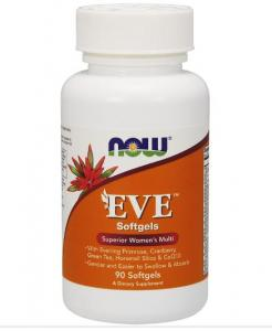 Eve Superior Womens Multi 90 капс Now Foods