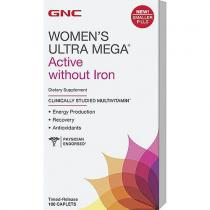Womens Ultra Mega Without Iron 180 капс GNC