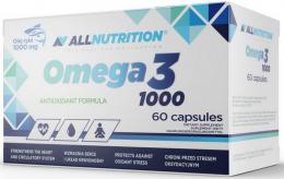Omega 3 1000 мг 60 капс, AllNutrition