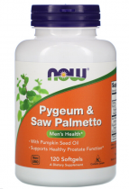 Now Foods Pygeum & Saw Palmetto 60 капс