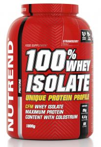 100% Whey Isolate  1800g, Nutrend