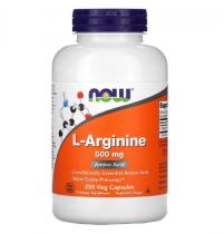 Now Foods L-Arginine 500 мг 250 капс