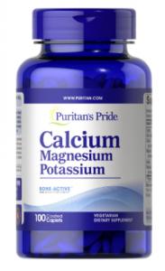 Puritan's Pride Calcium Magnesium Potassium  100 капп