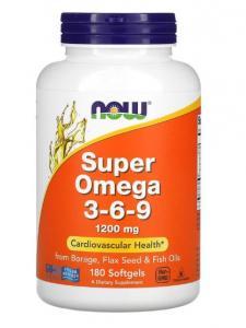 Now Foods Super Omega 3-6-9 180 softgels