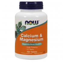 Calcium & Magnesium 100 таб Now Foods