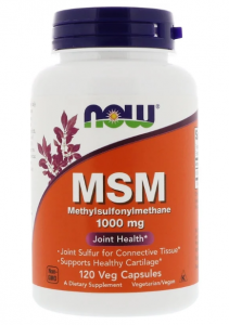 Now Foods MSM 1000 мг 120 капс