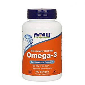 Omega-3 100 капс Now Foods