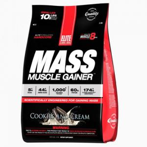 Mass Muscle Gainer 4.6kg, Elite Labs USA