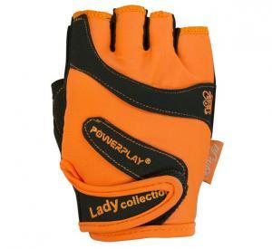 Перчатки WOMANS 1729-D оранжевые Power Play