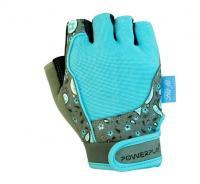 Перчатки WOMANS 1735 голубые Power Play