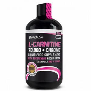 L-Carnitine 70.000мг + Chrome 500 мл Biotech