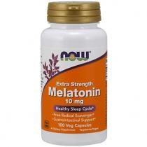 Melatonin 10 мг extra strenght 100 капс Now Foods