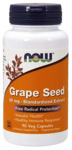 Now Foods Grape Seed 60 мг 90 капс