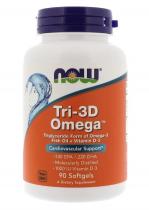 Now Foods  Tri-3D Omega 90 капс