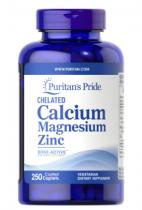 Puritan's Pride Calcium Magnesium Zinc  100 капп
