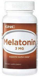 Melatonin 3 120 таб GNC