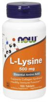 Now Foods L-Lysine 500 мг 100 капс.