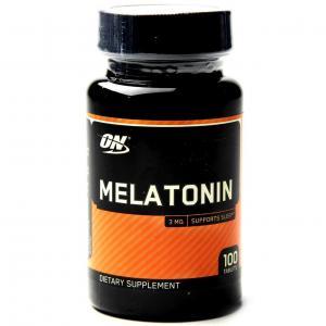 Melatonin 100 таб Optimum Nutrition