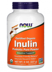 Now Foods Inulin Powder 227 гр