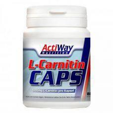 L-Carnitine 500 мг 80 капс. Actiway