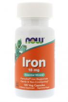 Now Foods Iron 18mg 120 caps