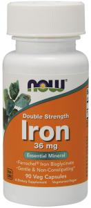 Now Foods Iron 36 мг 90 капс