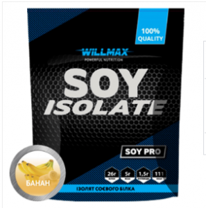Soy Isolate 900 г Willmax