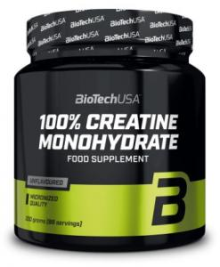 100% Creatine Monohydrate 500 г (банка) Biotech