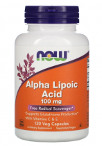 Now Foods Alpha Lipoic Acid 100mg 60 веган.капс.