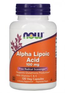 Now Foods Alpha Lipoic Acid 100mg 60 веган.капс.