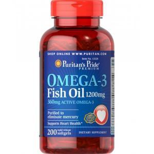 Puritan's Pride Omega-3 1200 mg 200капс
