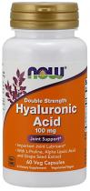 Hyaluronic Acid 100 мг 60 капс Now Foods